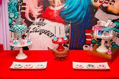 Harley Quinn  Birthday Party Ideas | Photo 4 of 21