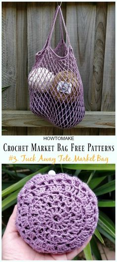 Crochet Market Bag… Tuck Away Tote Market Bag Crochet Free Pattern – Market Grocery Patterns The post Crochet Market Bag… appeared first on Fashion Ideas - Fashion Trends.Tuck Away Tote Markttasche häkeln kostenlose Muster - . Crochet Diy, Bag Crochet, Crochet Purse Patterns, Crochet Market Bag, Crochet Shell Stitch, Crochet Handbags, Crochet Purses, Crochet Gifts, Tote Bag Patterns