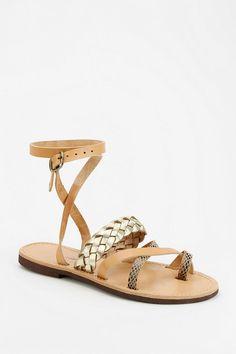 isapera Lemonia Ankle-Wrap Sandal