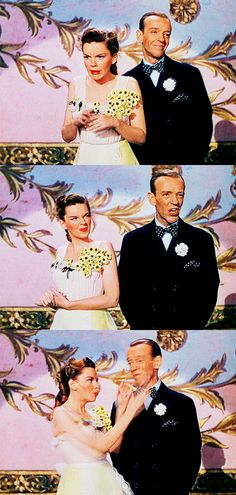 """Judy Garland and Fred Astaire in Easter Parade (1948) """"SNOOKIE UCUMS"""""""