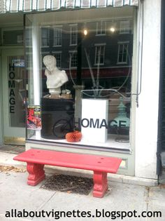 All About Vignettes: Hudson Valley Store Fronts