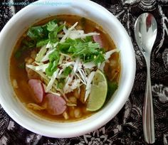A Little Cup of Mexican Hot Chocolate: If I Knew You Were Coming I Would Have Cooked You Pozole