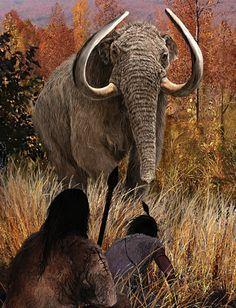 Clovis mammoth hunters in America by Velizar Simeonovski