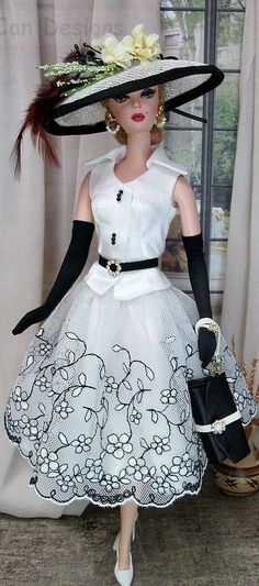 Barbie Silkstone White Fashion