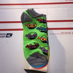 TMNT ankle socks 5pairs NWT one each of each turtle and one pair with all of them depicted Accessories Hosiery & Socks