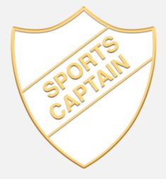 'Sports Captain' shield badge with enamel infill, gold plated and a superior Ballou clutch fixing. Various colours are available. *colours may vary slightly in shade due to differing monitor colours and manufacturing processes Size Badges, Monitor, Enamel, Gold Necklace, Colours, Shop, Sports, Jewelry, Hs Sports