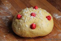Recette Brioche de Saint Genix - La cuisine familiale : Un plat, Une recette Hamburger, Pudding, Bread, Cheese, Cake, Desserts, Pralines Roses, Food, Pains