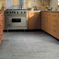 Kitchen Tile Concrete Look Daltile Glazed Porcelain Connection