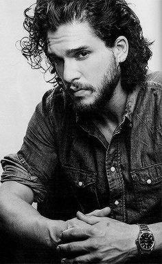 Kit Harington = Jon Snow