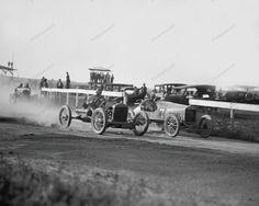 Auto Race Action Shot 1922 Vintage 8x10 Reprint Of Old Photo