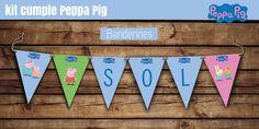 #peppa #kitpeppapig #kit  #peppapig #cumple #imprimible #banderines #fiesta #primer #añito #bebe #nene #nena #diseño #infantil