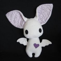 Dexter v2 by ~melkatsa on deviantART. Love all of the cute creature plushies that she makes!