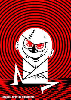 Psycho Dastardly Demon Dude ©Dave Savage