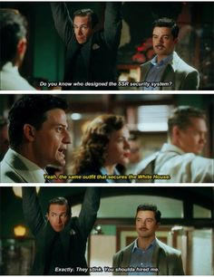 Cockiness runs in the family. Howard Stark everyone