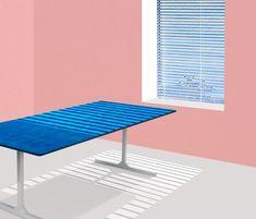DINING TABLE - Thijmen van der Steen Product Design, Beach Mat, Outdoor Blanket, Dining Table, Van, Studio, Projects, Dinning Table Set, Vans