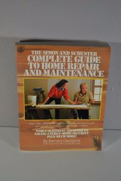 The Simon and Schuster Complete Guide to #Home #Repair and #Maintenance