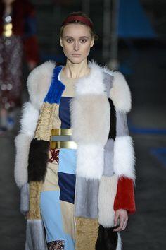 Fur trend fw2014/15: pachwork (Roksanda Ilincic)