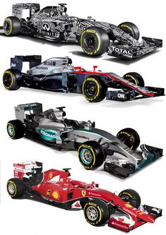 2015 F1 Cars Comparo - Infiniti RB11 vs McLaren-Honda MP4-30 vs AMG W06 vs Ferrari SF15T 37