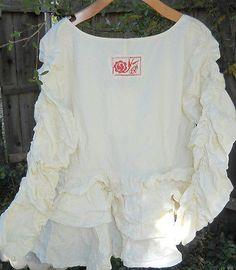Ewa I Walla Ruffled Cotton Jacket | eBay