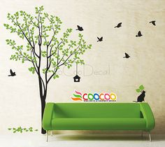 Wall Decal wall Stickers Nursery wall decal por coocoodecal