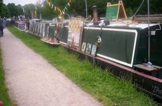 Narrowboat Trading at Red Bull Services near the Red Bull Pub Rope Crafts, Narrowboat, Bespoke Design, Red Bull, Rivers, Lakes, Castles, Outdoor Decor, Folk