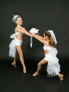 Maddie and Mackenzie from Dance Moms
