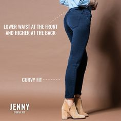 Jenny - Curvy Fit    #tiffosi #tiffosidenim #newin #fit #fitguide #denim #denimguide #denimcollection #jeans