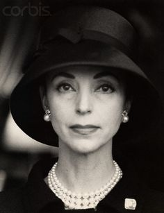 """CHIC? It is absolutely innate, I was born with it. CHIC cannot be taught.""  --  Gloria Guinness"