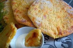 Finnish potato cakes - to eat every day, and all is not enough! Food Network Recipes, Cooking Recipes, Good Food, Yummy Food, Potato Cakes, Good Enough To Eat, Russian Recipes, Seafood Recipes, The Best