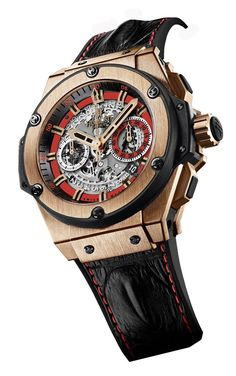 Hublot 703.OX.0113.HR.RUS13 Big Bang King Power 48 mm of Russia II King Gold. #Hublot