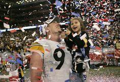Super Bowl XL victory (Aaron Smith)