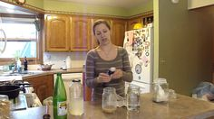 How to Make Water Kefir in 2 Minutes or Less-the best/easiest demo I've found yet! Gonna get those grains growing! How To Make Water, Making Water, Juice Smoothie, Smoothies, Kombucha How To Make, Probiotic Drinks, Leaky Gut Syndrome, Water Kefir, Micro Nutrients