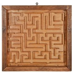 (Handmade Two-Sided Marble Maze now featured on Fab.) We had this when I was little. Wish we still did since it retaills for 245 dollars now! ~ETS