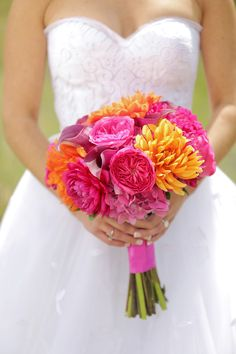 Colorful Park City Utah Wedding - http://fabyoubliss.com/2015/06/02/colorful-magenta-and-orange-park-city-utah-wedding