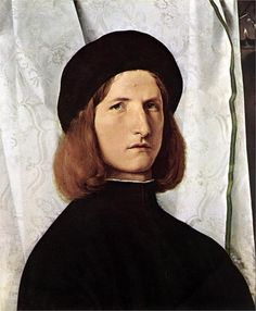 Portrait of a Man, 1508  Lorenzo Lotto. If only I could learn how to do eyes...