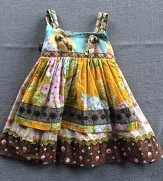 Check out this listing on Kidizen: Matilda Jane 12 Month Apron Dress  #shopkidizen