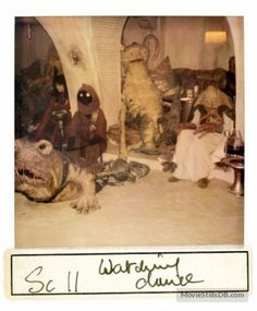 Star Wars: Episode VI - Return of the Jedi - Behind the scenes photo