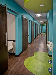 ... Nurse's Station · Clinical Corridor