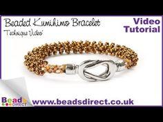 How to Add Beads to a Kumihimo Braid | Beaded Kumihimo Braiding