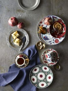 Turkish Tea & Pastries Spread