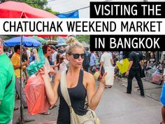 Visiting the Chatuchak Weekend Market in Bangkok is retail heaven. With 35 acres of vendors, if you can dream it up, you can likely find it at Chatuchak! Bangkok Thailand, Thailand Travel, Asia Travel, Backpacking Thailand, Travel Tips, Thailand Vacation, Budget Travel, Travel Ideas, Chatuchak Market