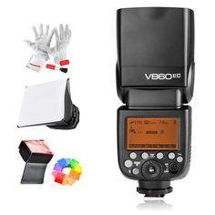 Black ZQ House FB-20 Universal Camera Top Flash Light Speedlite Bounce Focus Flash Diffuser