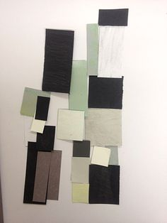 hans arp- Collage- Arranged According to the Laws of Chance-