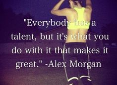 Quotes about Success : Soccer is a great full body workout that you can do with others or just by yours