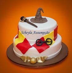 Scheyla Assumpção - Cake Designer: Bolo Harry Potter