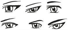 Manga eyes (male)