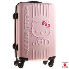 Hello kitty suit case! I wish it was white though...