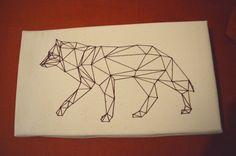 Geometric wolf/Geometrikus farkas