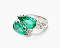 1959's Glam!! #toietmoi #1950s #emeralds