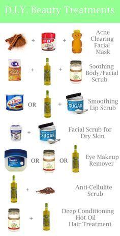 D.I.Y.Beauty Treatments using coconut oil, honey, evoo, brown sugar, and spices [ Waterbabiesbikini.com ] #beauty #bikini #elegance